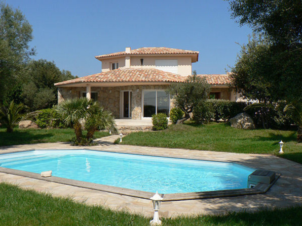 Villa rental belluccia porto vecchio for Location maison sud corse